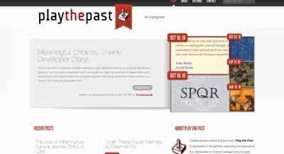 playthepast site